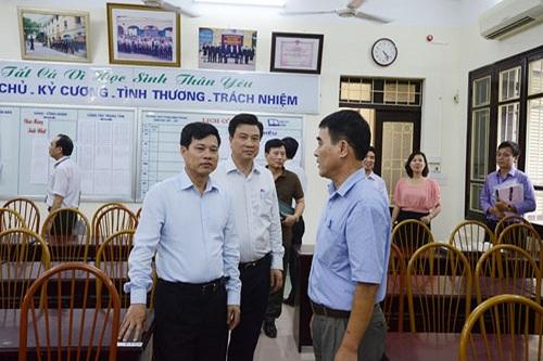 TP Hà Nội sẽ kiểm tra, kiểm soát cán bộ coi thi trong kỳ thi THPT
